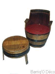 coin repos barrique tonneau f t. Black Bedroom Furniture Sets. Home Design Ideas