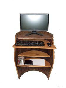 Meuble informatique barrique - Console informatique but ...