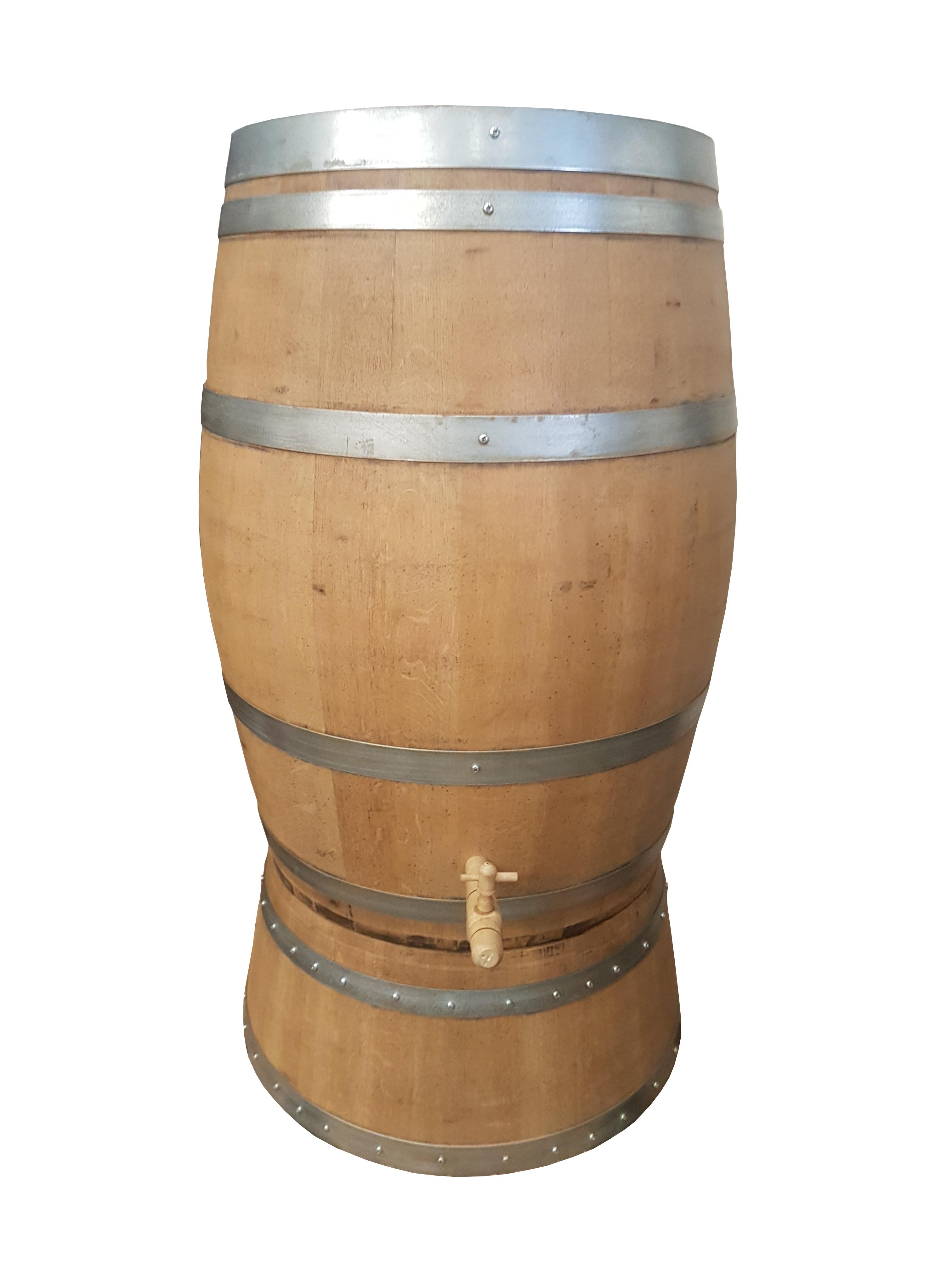 Meuble En Tonneau De Vin tonneau rÉcupÉrateur d'eau 225 litres avec socle