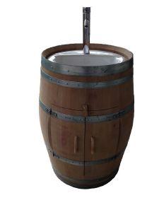 meuble vasque barrique bordelaise tonneau vasque en ch ne massif. Black Bedroom Furniture Sets. Home Design Ideas