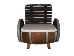 mobilier en tonneau fauteuils barrique. Black Bedroom Furniture Sets. Home Design Ideas